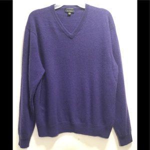 Club Room 100% Cashmere Sweater Ex Cond